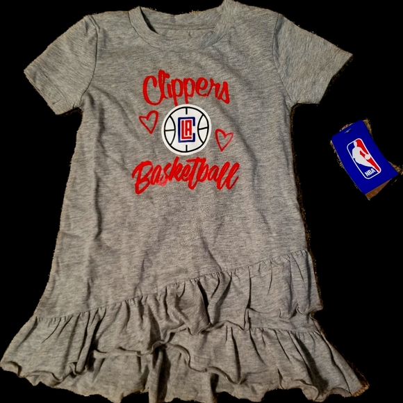 Clippers Ruffled Dress